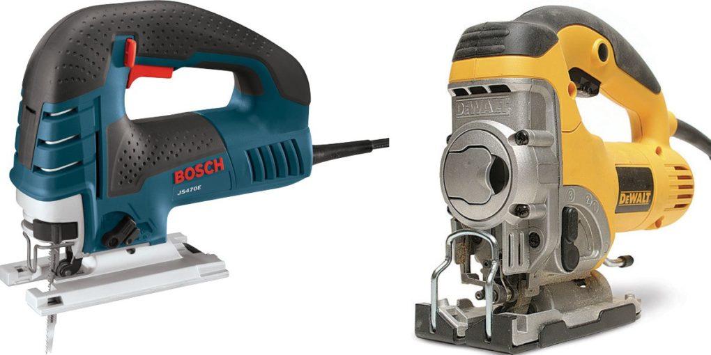 Bosch JS470E vs DeWalt DW331K