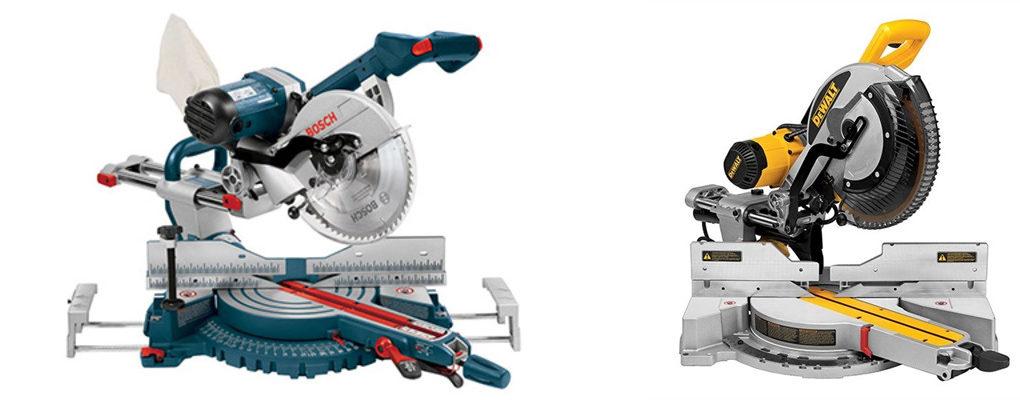 Bosch GCM12SD vs DeWalt DWS780