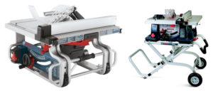 Bosch GTS1031 vs 4100