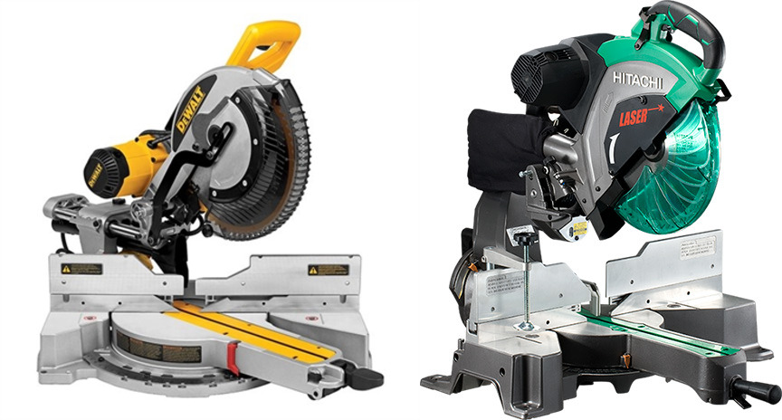 DeWalt vs Hitachi Miter Saw