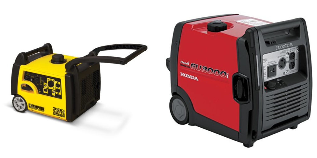 Champion vs Honda Generator