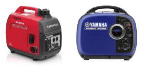 Honda EU2000i vs Yamaha EF2000is