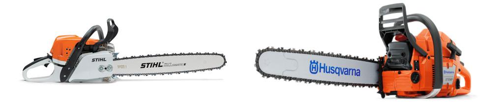 Stihl MS 391 vs Husqvarna 460