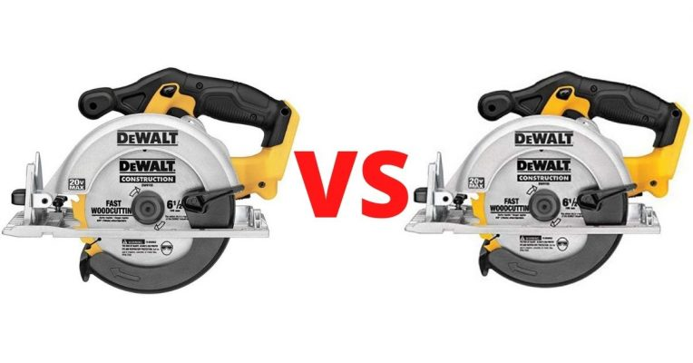 DeWALT DCS391 vs DCS393