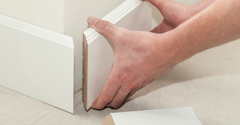How To Cut Baseboard Corners with Miter Saw
