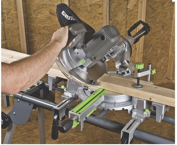 cutting baseboard corners with a miter saw